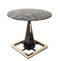 De Rigù, tavolo in legno e metallo