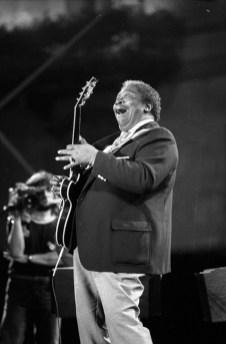 MAURIZIO GONNELLA - B.B. King, Estival Jazz Lugano, 1990