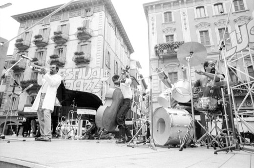 MAURIZIO GONNELLA - Art Ensemble of Chicago, Estival Jazz Lugano, 1988