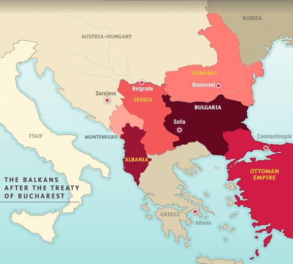 Empire Map Ottoman 1914