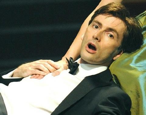 David Tennant in Hamlet