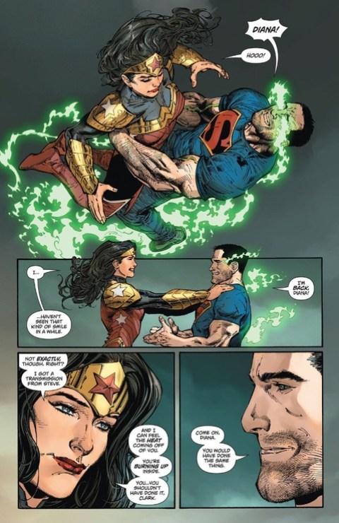 Clark and Diana reunited