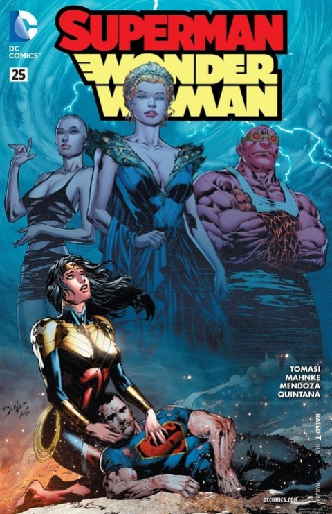 Superman-Wonder Woman #25