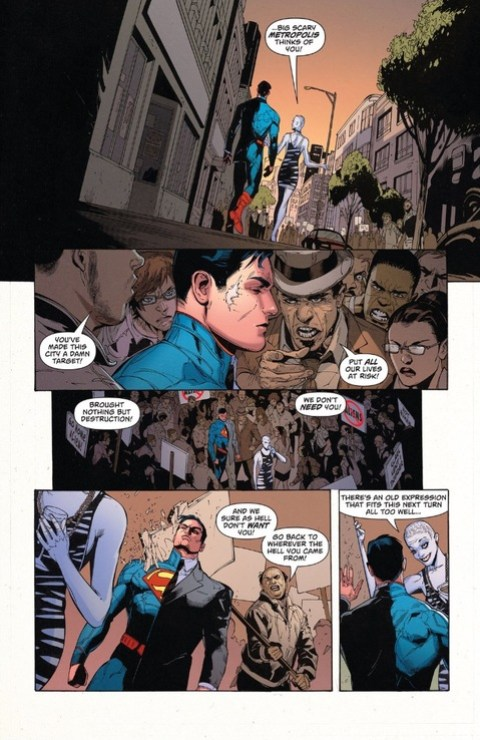 Superman and Strife