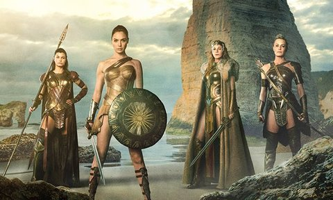 Wonder Woman and the Amazons