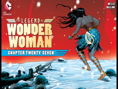 The Legend of Wonder Woman #27