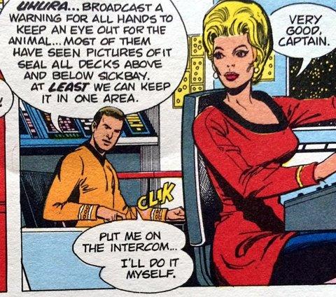 That's not Uhura!