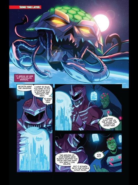 Lord Zedd and Brainiac