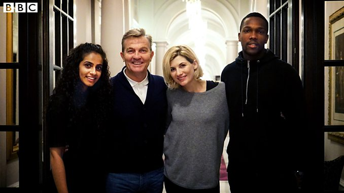 The new Doctor Who cast