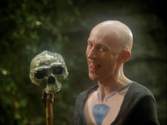 Richard O'Brien as Gulnar in Robin of Sherwood