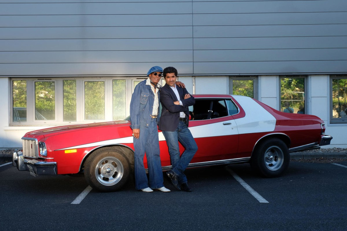 Starsky & Hutch's Huggy Bear just appeared on French TV