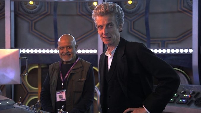Waris Hussein with Peter Capaldi