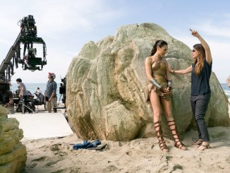 Gal Gadot and Patty Jenkins