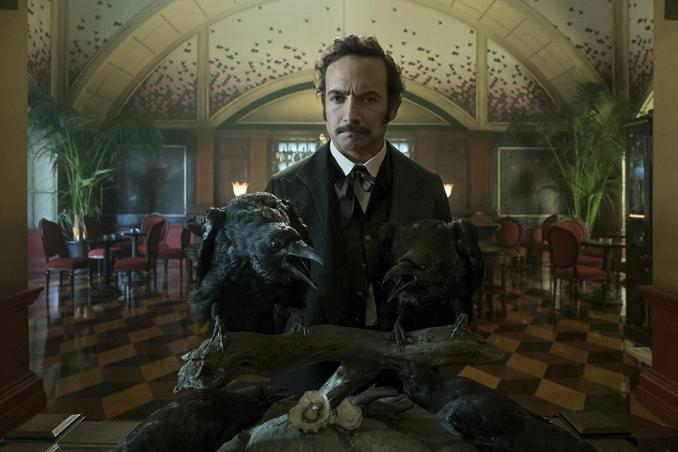 Chris Conner as Poe in Altered Carbon