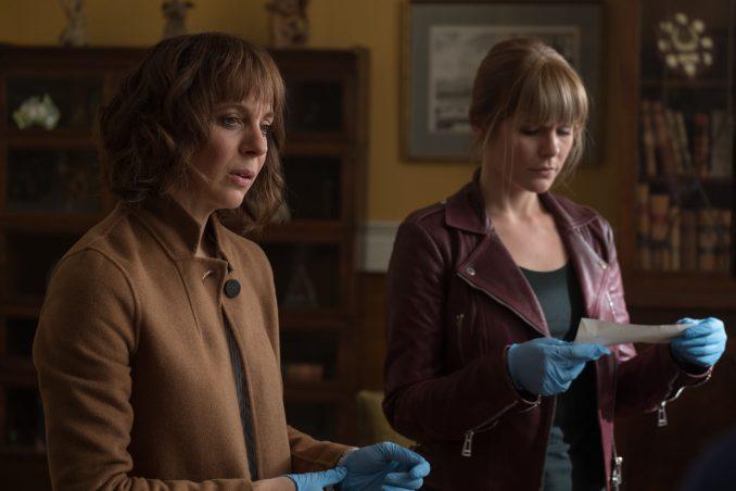 Amanda Abbington and Hannah Arterton in Netflix's Safe