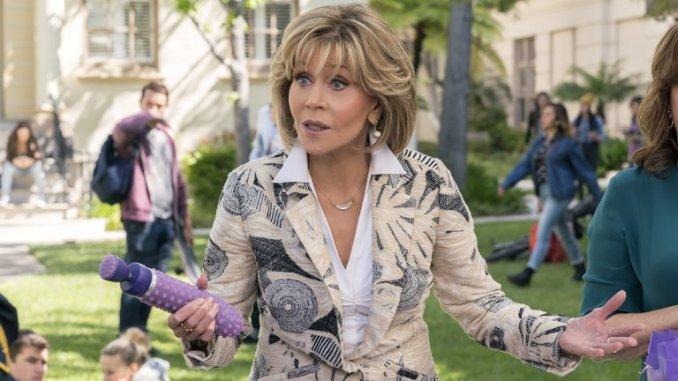 Jane Fonda in Netflix's Grace and Frankie
