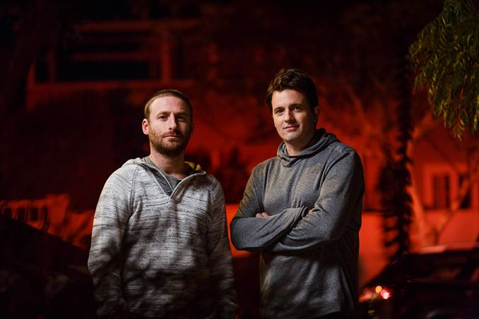 Dean O'Gorman and Matt Minto in TVNZ1's The Bad Seed