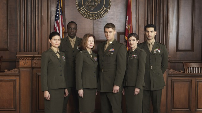 The cast of The Code