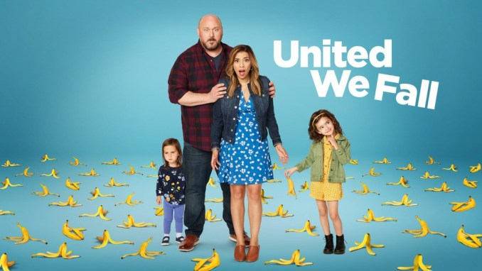 Will Sasso and Christina Vidal in United We Fall