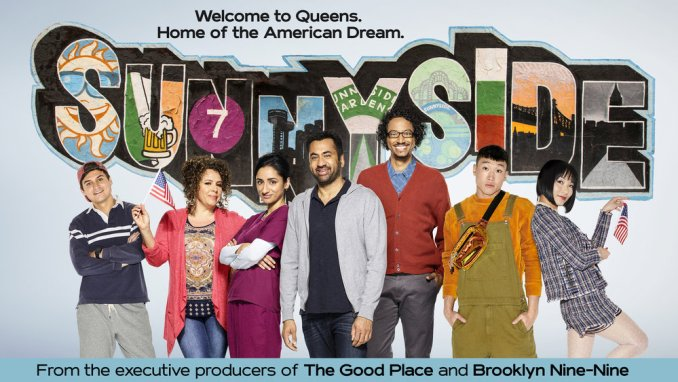 Kal Penn and a diverse group of people you've never heard of NBC's Sunnyside