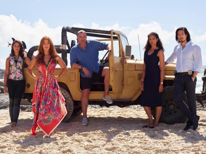 The cast of Reef Break
