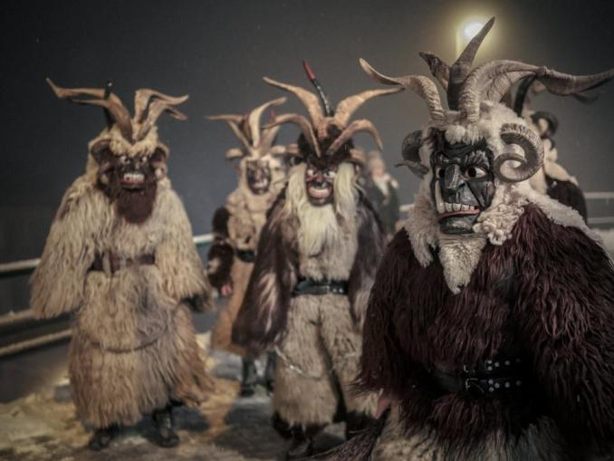 Krampus in Der Pass