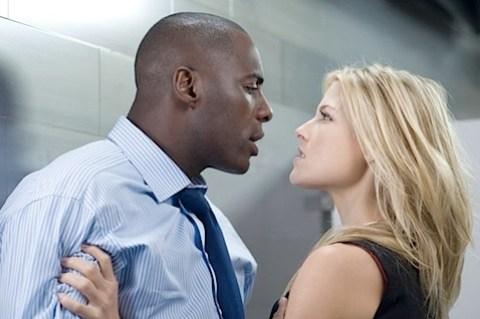 Ali Larter and Idris Elba in Obsessed