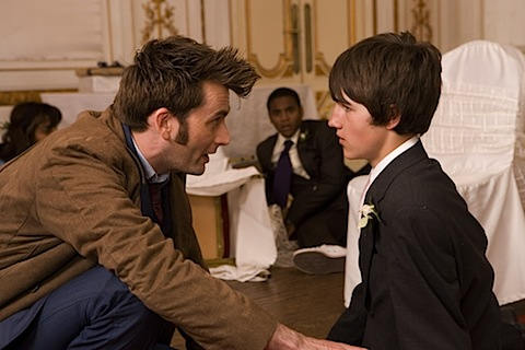 David Tennant in The Sarah Jane Adventures