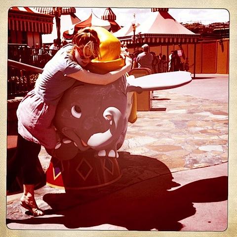Alex Breckenridge at Disneyland