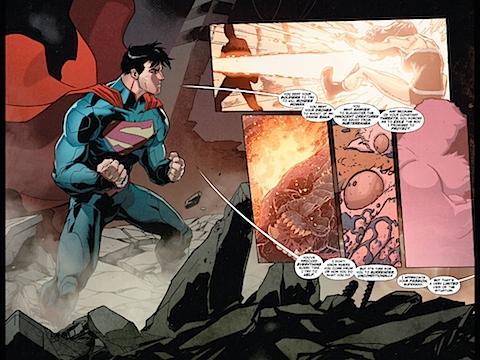 Wonder Woman flashback. Or flashforward