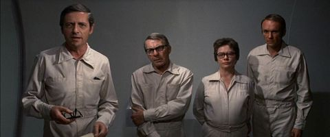 The scientists in the Andromeda Strain