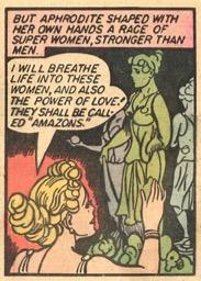 Aphrodite makes the Amazons