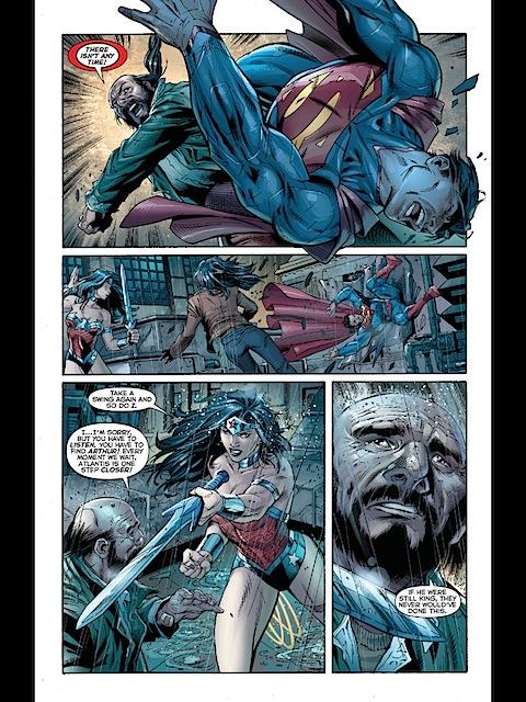 Wonder Woman is annoyed