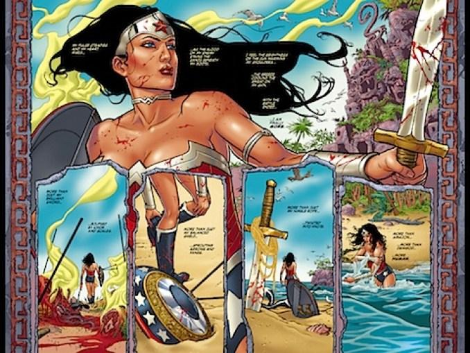 Wonder Woman is an Amazon