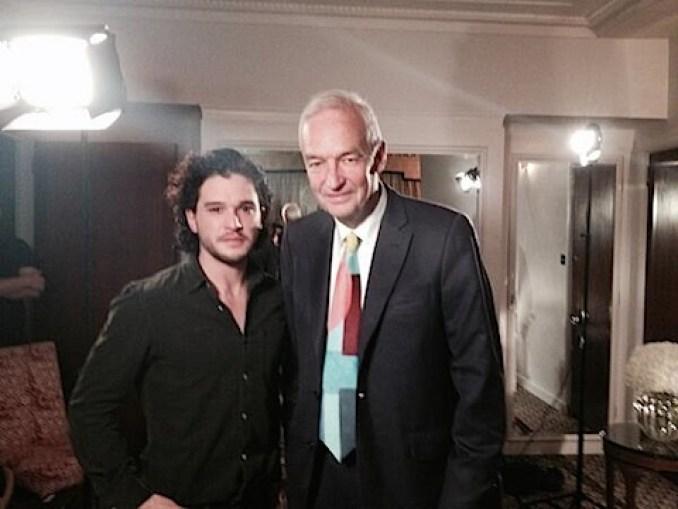 Kit Harrington meets Jon Snow