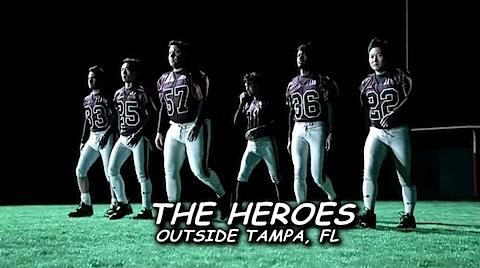 Heroes of the Superbowl