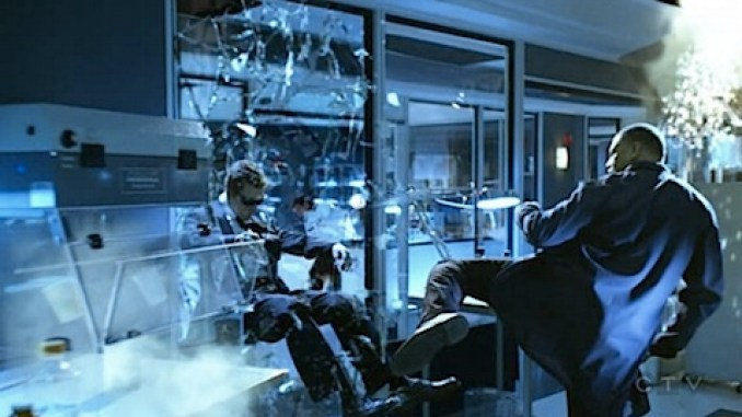 CSI does The Matrix
