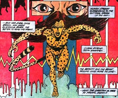 George Perez's Cheetah