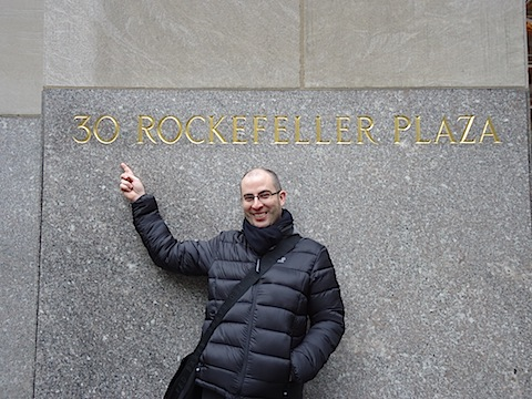 Me in front of 30 Rock