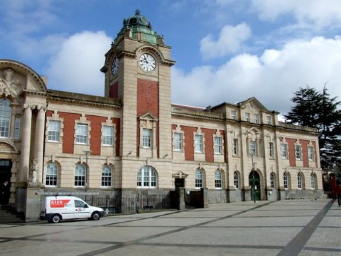 Barry town hall and library