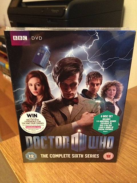 Series 6 of Doctor Who on DVD