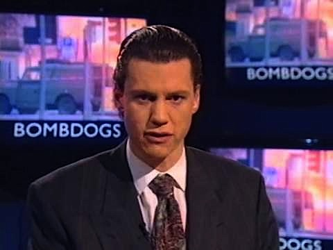 Chris Morris in The Day Today