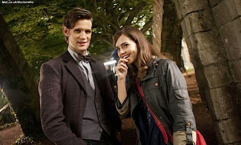 The Doctor with Jenna-Louise Coleman