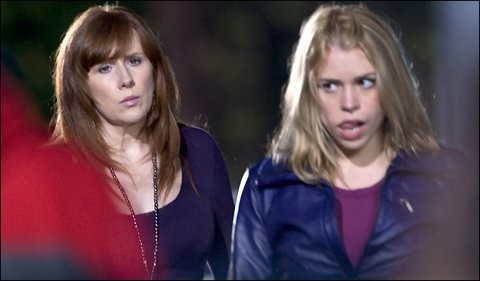Catherine Tate and Billie Piper