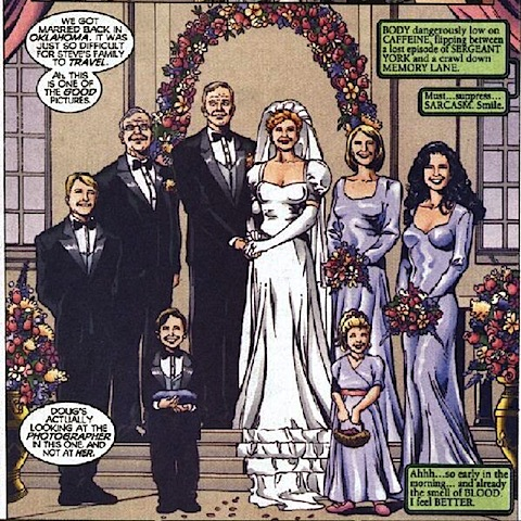 Etta and Steve get married