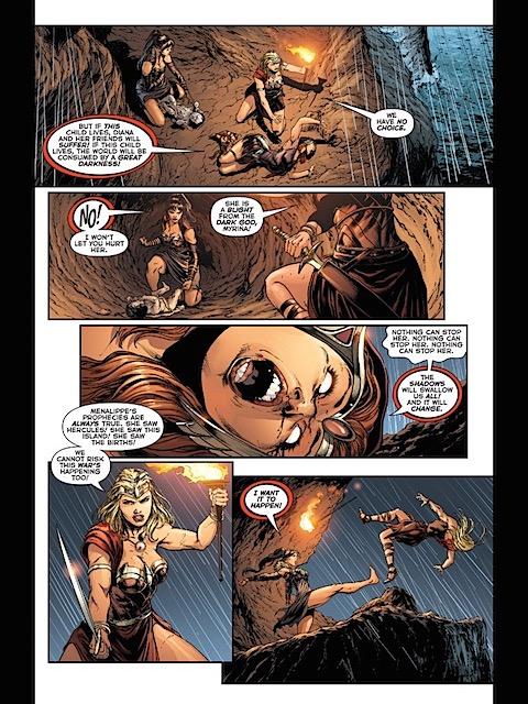 Darkseid's new daughter