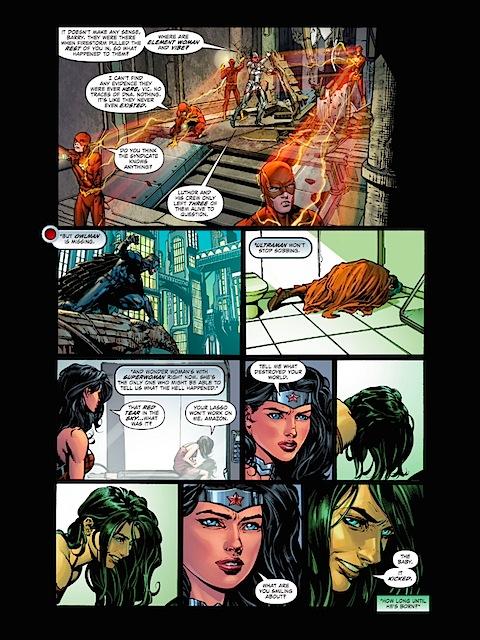 Wonder Woman visits Superwoman