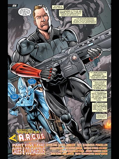 Steve Trevor With A Gun