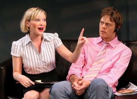 Joanna Page and Kris Marshall in Fat Pig