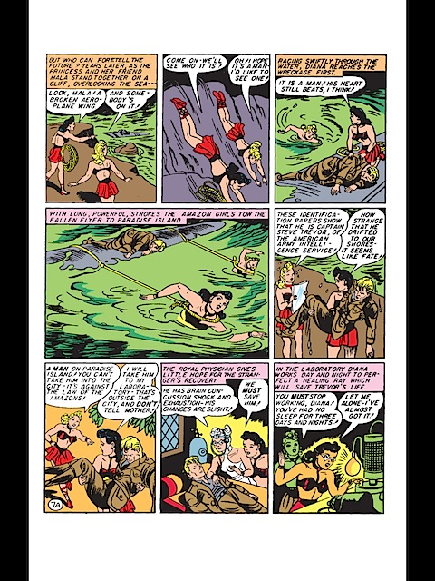 The Golden Age Amazons of Wonder Woman